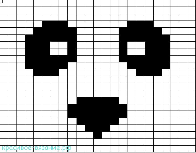 Шапочка «Панда»