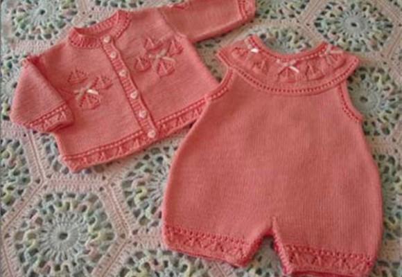 комплект спицами для малыша