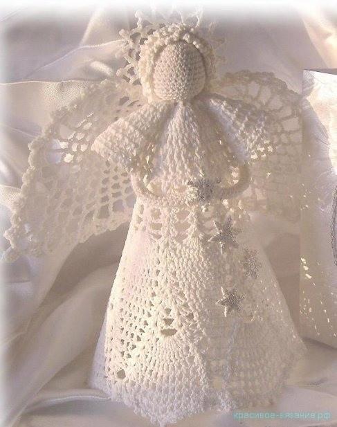 ангел крючком