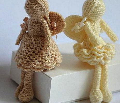 ангелочки крючком