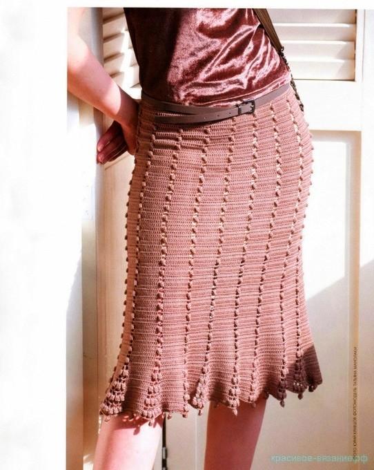 Длинная юбка с шишечками!