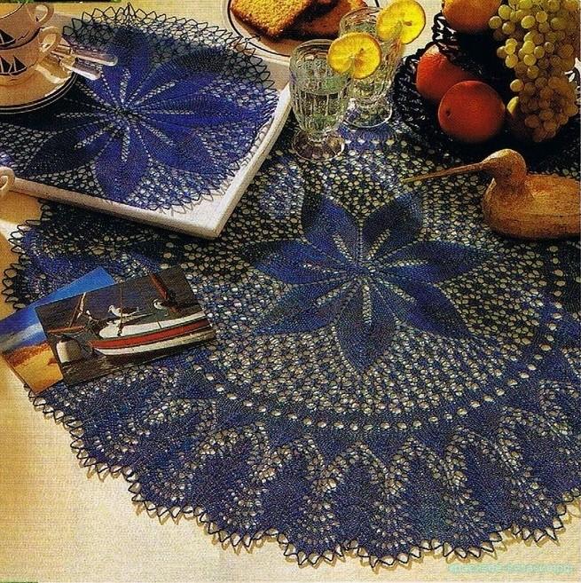 Floral Star — салфетка и скатерти