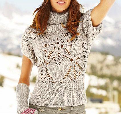 pulover-s-korotkim-rukavom-foto
